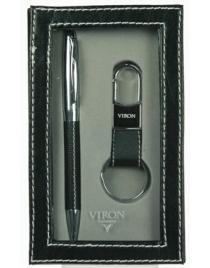 Подарочный набор VIRON: авторучка, брелок 16*10*3см