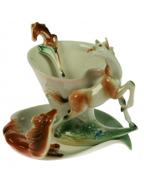 Подарочный чайный набор Лошадка на 1 персону