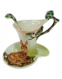 Подарочный чайный набор Олененок на 1 персону