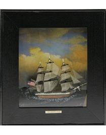 Панно USS Constitution 23*26см