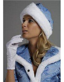 Шапочка и перчатки Снегурочки