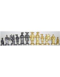 Шахматы с доской Italfama LANZICHENECCHI. ART 84 M+ART 221 GN