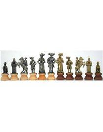 Шахматы с доской Italfama LANZICHENECCHI. ART 213 L+ART 173 MW