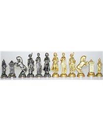 Шахматы с доской Italfama NAPOLEONE. ART 221 GN-53+ART 57 M
