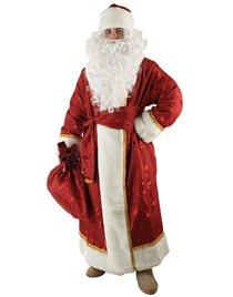 Карнавальный костюм Деда Мороза портьера набивная Н25-ПН
