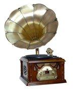 Граммофон 98810  (винил, AM/FM, CD, аудио)