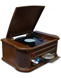 """Музыкальный прoигpывaтель """"RetroStudio-1"""" NT70-1 CD/CD-R/CD-RW/MP3/USB"""