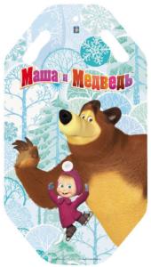 Ледянка 1 TOY Маша и Медведь (Т59045) с прорезями