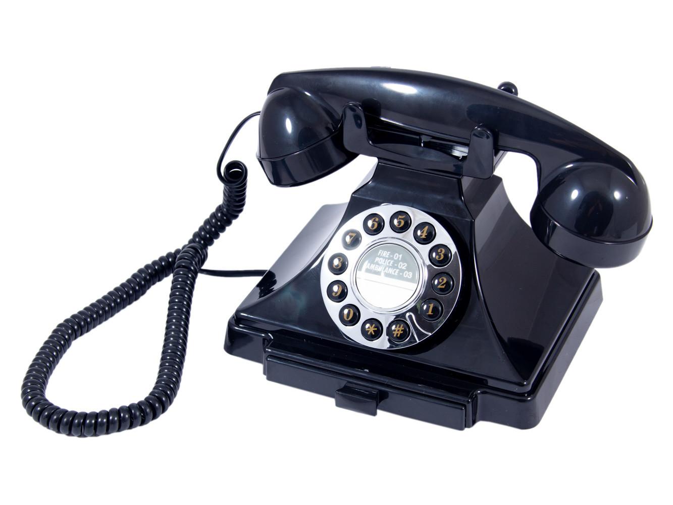 Телефон-ретро, 23x12x19 см, артикул 98912